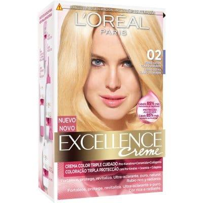Excellence Tinte Excellence Blonde 2 Rubio Ultra Claro Dorado