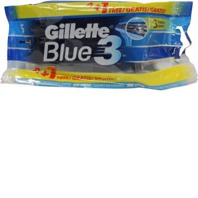 Gillette Blue 3 4+1 Bolsa