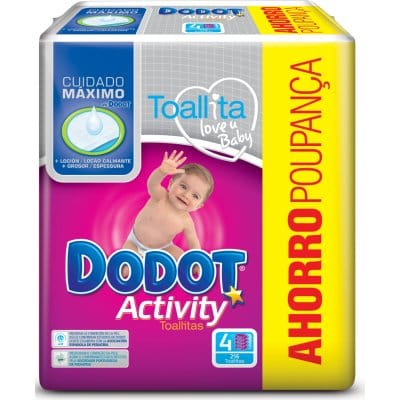 Dodot Toallitas Activity Pack 216 Unidades