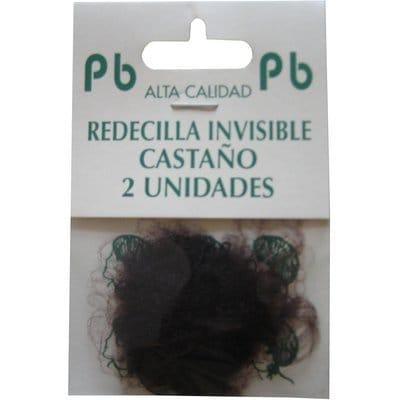 Pincelbrocha Redecilla invisible castaño pack 2 unidades R/327