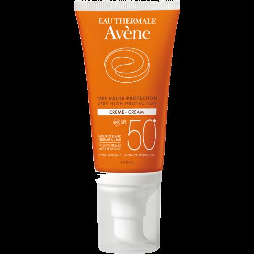 Avene Crema solar piel sensible spf-50+ 50 ml.