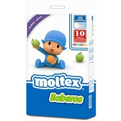 Moltex Babero desechable pack 10 unidades
