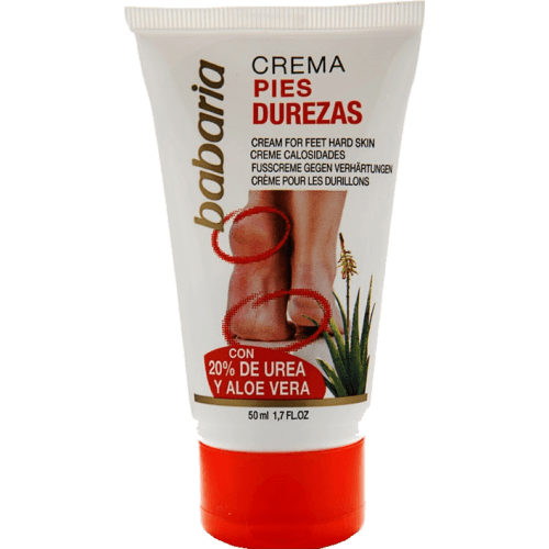 Babaria Crema de pies anti durezas 50 ml.