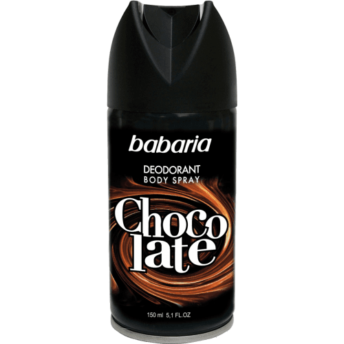 Babaria Desodorante babaria body spray men chocolate