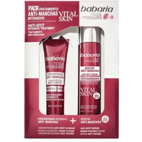 Babaria Pack antimanchas vital skin 30ml+serum