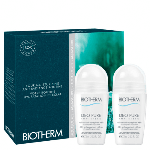 Biotherm Estuche Deo Pure Invisible Roll On