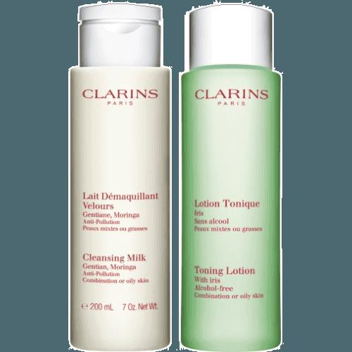 Clarins Pack duplo limpieza piel mixta a grasa
