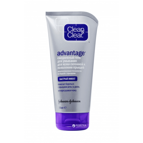 Clean & Clear Gel Limpiador Advantage