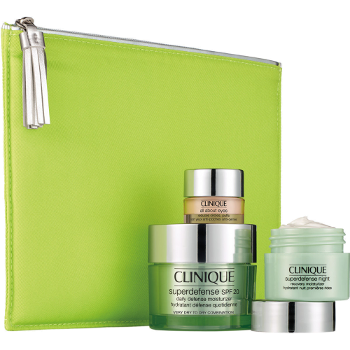 Clinique Cofre Superdefense SPF 20 Hidratante Defensa Diaria