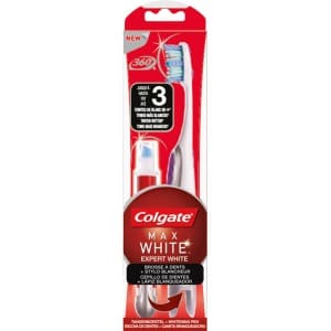 Colgate Lapiz blanqueador colgate max white expert + cepillo