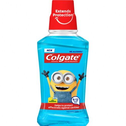 Colgate Plax Enjuague Bucal Infantil Minions