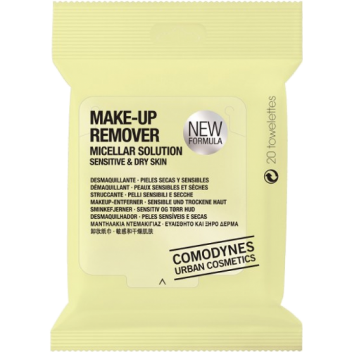 Comodynes Comodynes make up remover dry skin