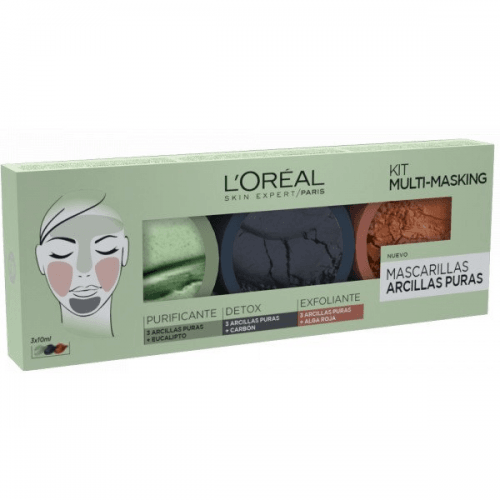 Dermo Expertise Pack Multimasking Arcillas Puras L´Oréal