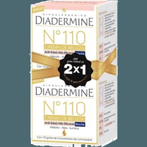 Diadermine Crema de belleza 50 ml. nº 110 noche pack 2 x 1