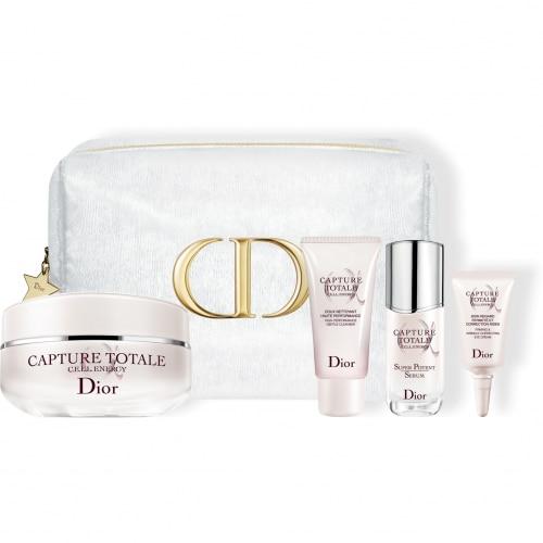 DIOR Capture Total Cofre exclusivo<br> Limpiador facial, sérum, crema y crema contorno de ojos