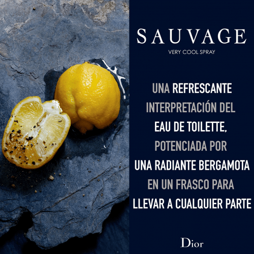 DIOR SAUVAGE<br> Very cool spray- Fresh Eau de Toilette