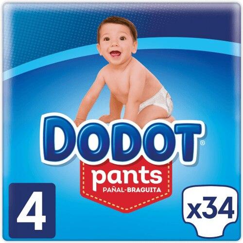 Dodot Pañales Pants T4 34 Unidades