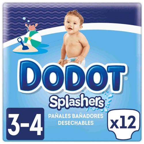 Dodot Pañales Splashers T3 4 12 Unidades
