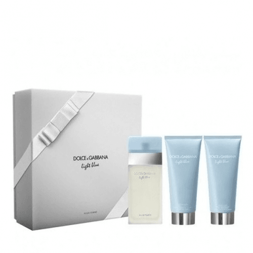 Dolce & Gabbana Estuche DG Light Blue And Shower Gel