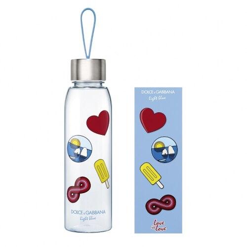 Regalo Water Bottle y Sticks D&G