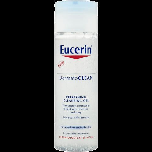 Eucerin Gel limpiador refrescante dermatoclean