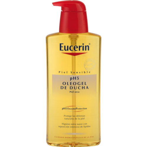 Eucerin Oleo gel de ducha ph 5 piel seca o sensible
