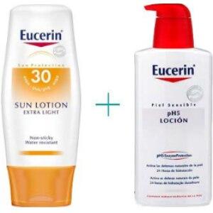 Eucerin Eucerin loción extra light spf 30 + ph5 loción