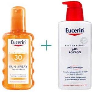 Eucerin Eucerin spray transparente spf 30 + ph5 loción
