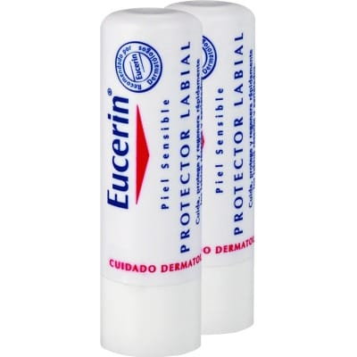 Eucerin Protector Labial Piel Sensible 2 Unidades