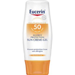 Eucerin Bronceador crema Allergy SPF-50