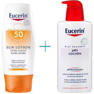 eucerin eucerin extra light spf 50 + ph5 loción