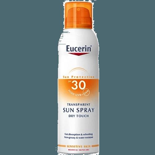 Eucerin Eucerin spray transparente dry touch spf 30