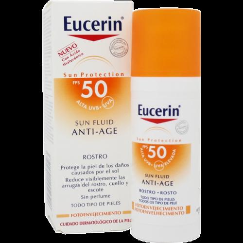 Eucerin Eucerin sun fluid anti age spf 50