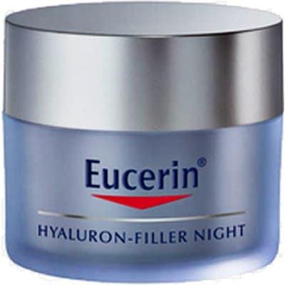Eucerin Crema anti-edad hyaluron filler noche 50 ml.