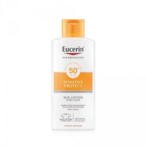 Eucerin Sun Loción Extra Light Sensitive Protect SPF 50