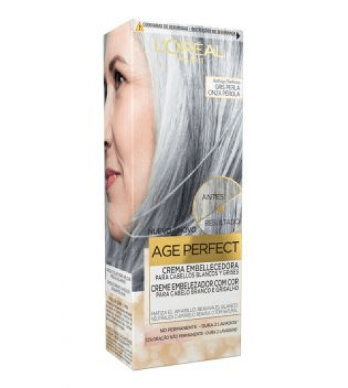 Excellence L´Oréal Age Perfect Crema Embellecedora Gris Perla