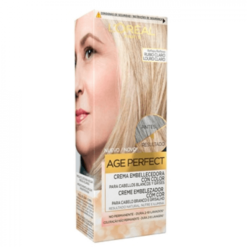 Excellence L´Oréal Age Perfect Crema Embellecedora Rubio Claro
