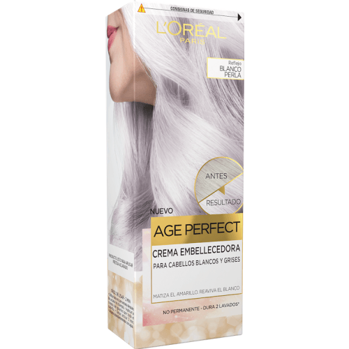 Excellence L´Oréal Age Perfect Crema Embellecedora Blanco Perla