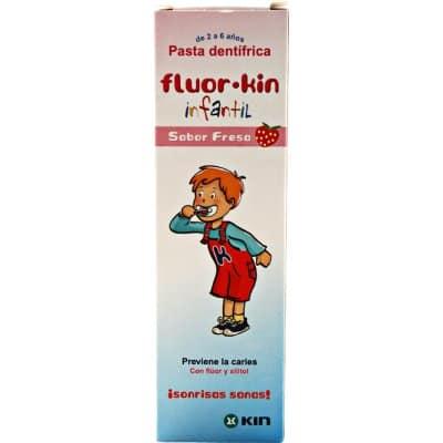 Fluor Kin Pasta dental infantil fresa