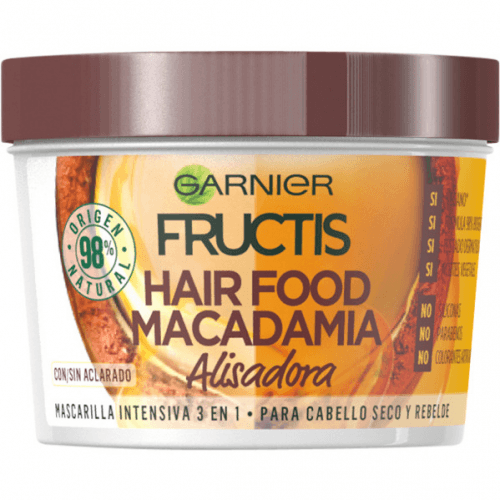 Fructis Hair Food Macadamia Mascarilla