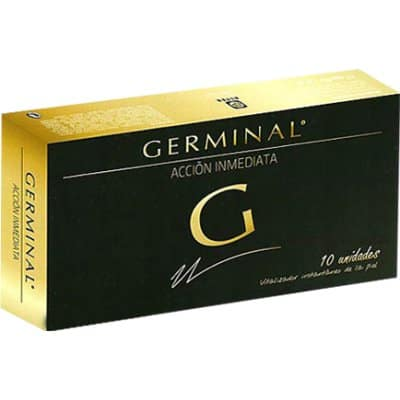Germinal Ampolla de acción inmediata - 10 und.
