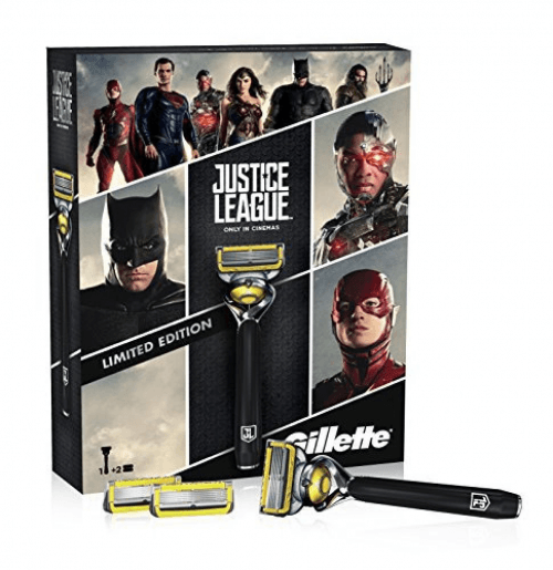 Gillette Pack Gillette Proshield Justice League