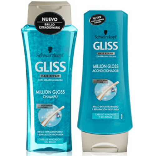 Gliss Champú Million Gloss Mas Mascarilla