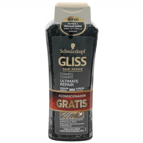 Gliss Pack Ultimate Repair Champú y Acondicionador