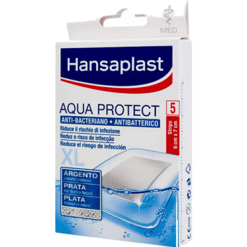 Hansaplast Hansaplast Apósito Aqua Protect Anti-Bacteriano Xl