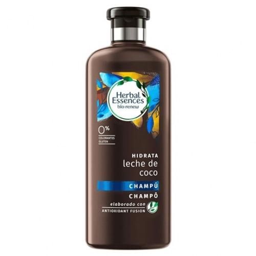 Herbal Champú Hidrata Leche De Coco