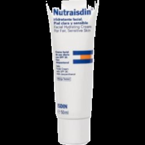 Isdin Nutraisdin hidratante facial piel clara y sensible,spf 30
