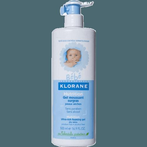Klorane Klorane gel espuma sobregraso bebe