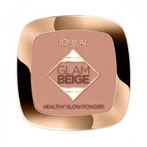 L´Oreal Makeup Glam Beige Poudre Base De Maquillaje