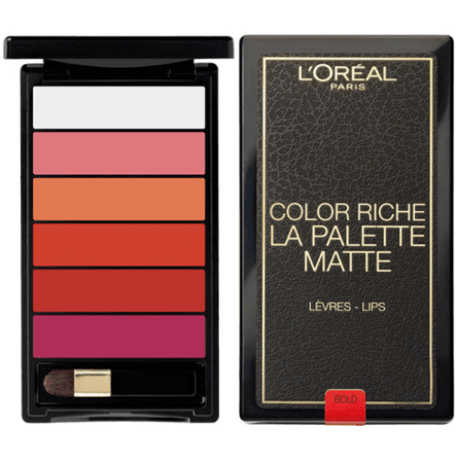 L´Oreal Makeup Color riche la palette matte